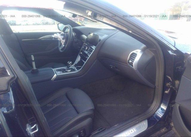 пригнать из сша 2020 BMW 8 SERIES WBAGV8C0XLCE17560