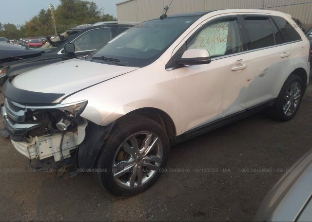 из сша 2012 FORD EDGE 2FMDK4KC5CBA09690