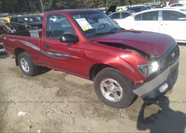 Inventory #789780879 2002 Toyota TACOMA