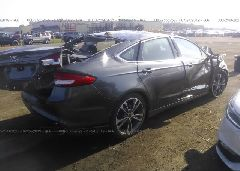 2017 FORD FUSION - 3FA6P0K92HR208836 rear view