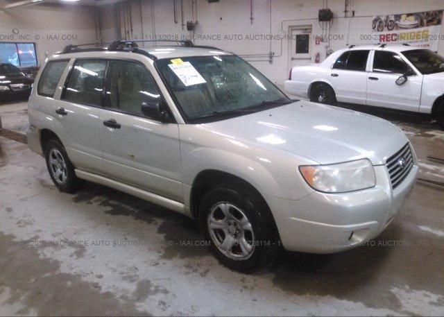 Inventory #936151684 2007 Subaru FORESTER
