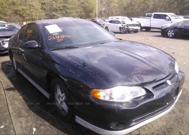 Inventory #770936956 2002 Chevrolet MONTE CARLO