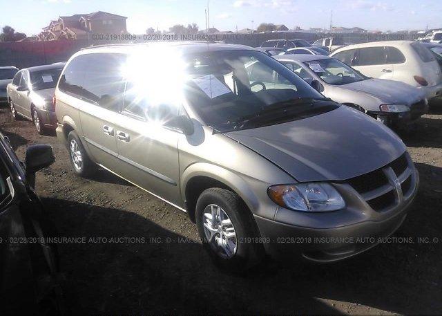 Inventory #504521076 2002 Dodge GRAND CARAVAN