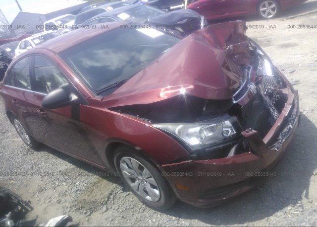 Inventory #669227935 2012 Chevrolet CRUZE