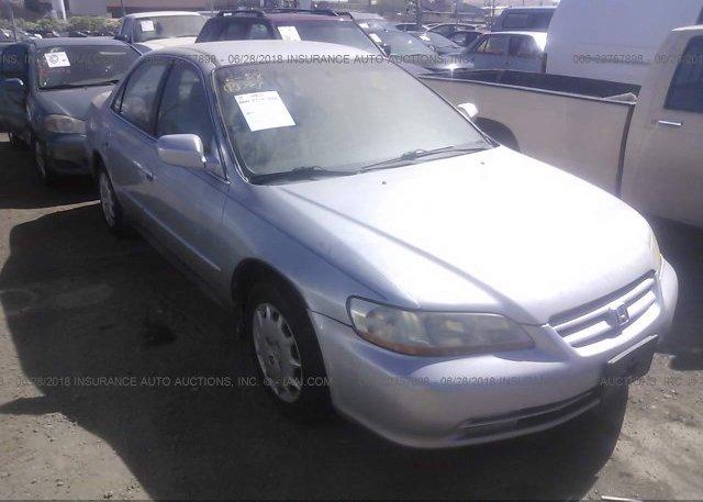 Inventory #613752401 2002 Honda ACCORD