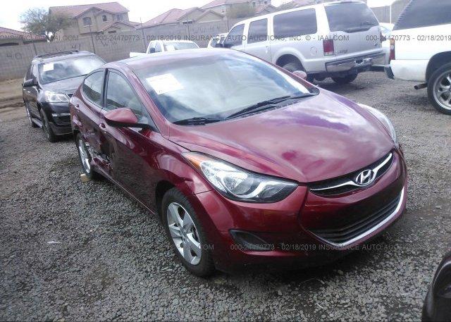 Inventory #141377995 2013 Hyundai ELANTRA