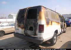 2006 FORD ECONOLINE VAN - 1FTSS34P76HA74165 rear view