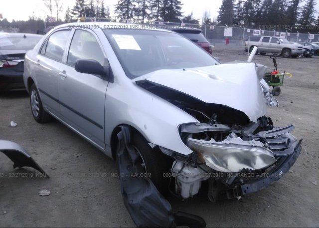 Inventory #727712941 2003 Toyota COROLLA
