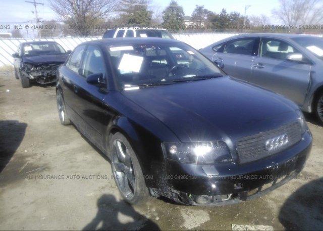Inventory #579358003 2002 AUDI A4