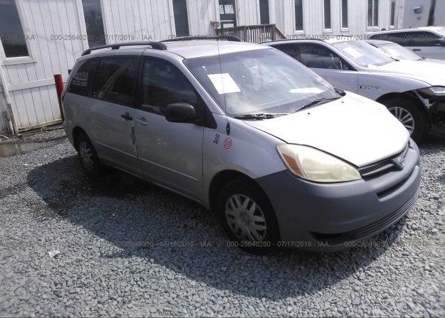 Inventory #697195181 2005 Toyota SIENNA