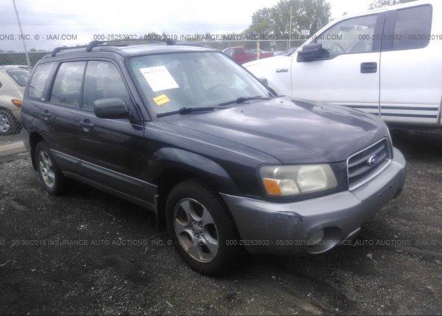 Inventory #743811766 2004 Subaru FORESTER
