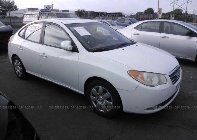 Inventory #224412926 2007 Hyundai ELANTRA
