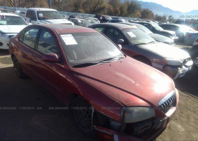 Inventory #817362240 2006 Hyundai ELANTRA