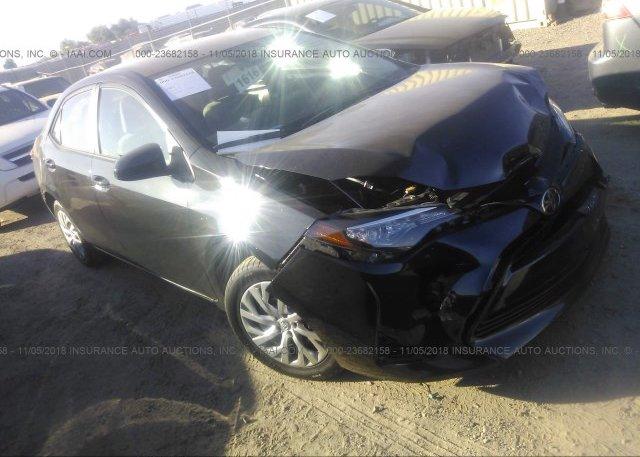 5yfburhe4hp650677 Salvage Black Toyota Corolla At Phoenix Az On