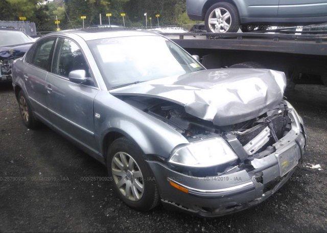 Inventory #388860403 2003 Volkswagen PASSAT