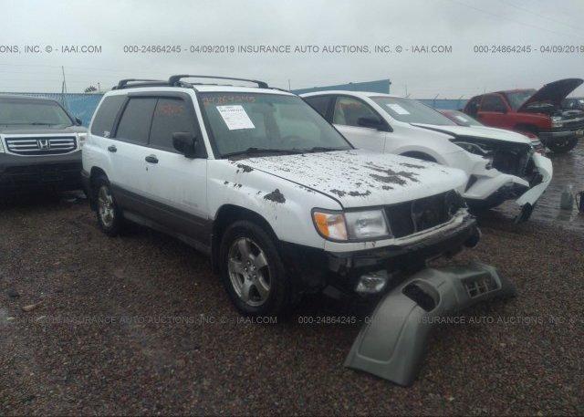 Inventory #158036697 1999 Subaru FORESTER