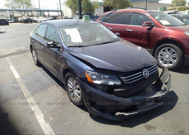 Inventory #417876178 2015 Volkswagen PASSAT