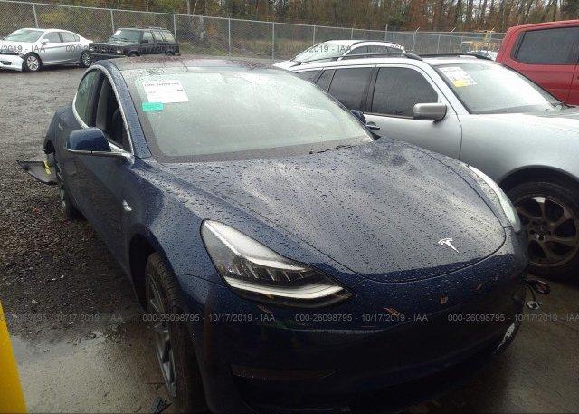 Inventory #615227580 2018 Tesla MODEL 3