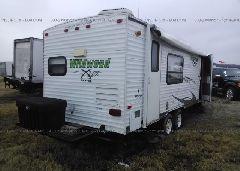 2011 WILDWOOD OTHER - 4X4TWDB27BR340885 rear view