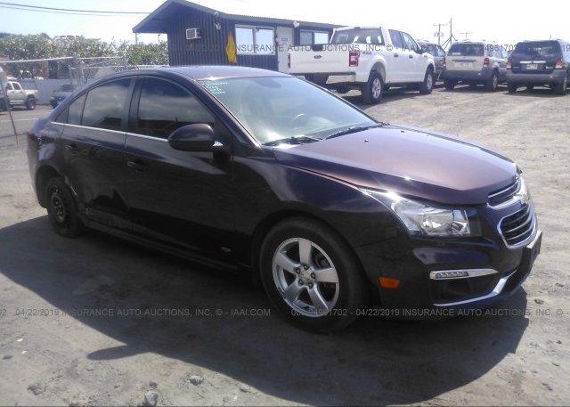 Inventory #814065050 2015 Chevrolet CRUZE