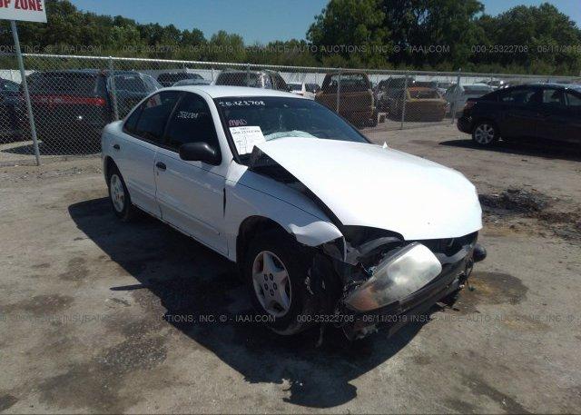 Inventory #783808227 2003 Chevrolet CAVALIER
