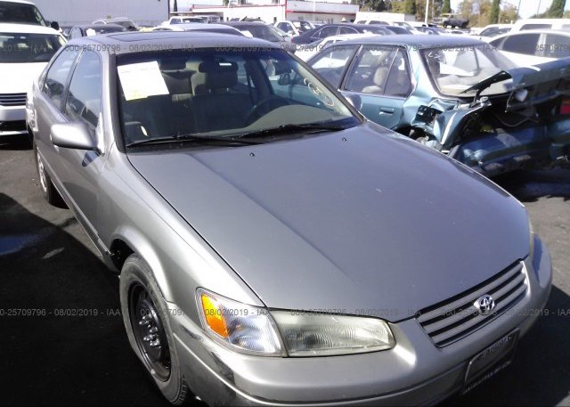 JT2BF22K9V0028879, Salvage Certificate silver Toyota Camry