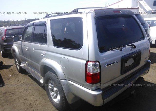 ... 2001 Toyota 4RUNNER   JT3HN86R010356575 X2 · 2001 ...