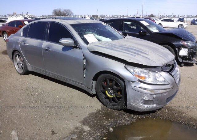 Inventory #163644721 2009 Hyundai GENESIS
