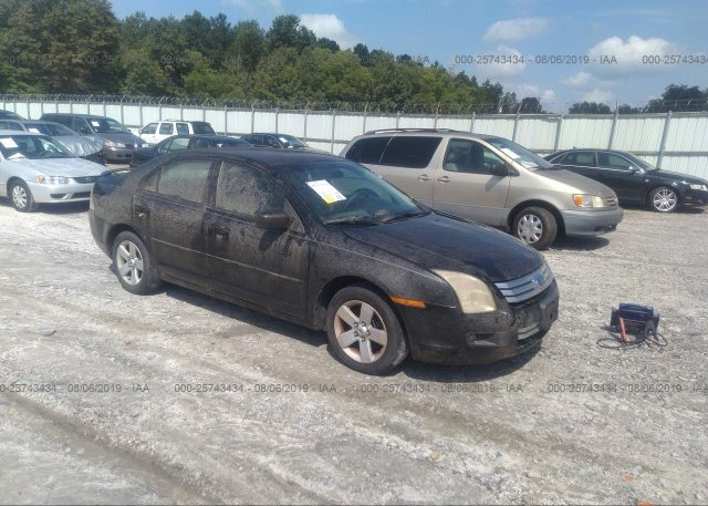 Inventory #419624429 2007 FORD FUSION