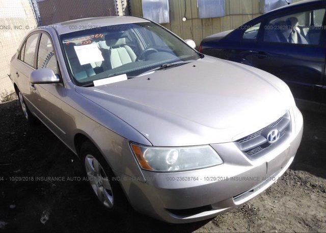 Inventory #926192475 2008 Hyundai SONATA