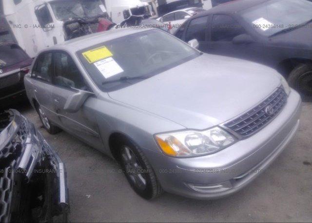 Inventory #890246507 2003 Toyota AVALON