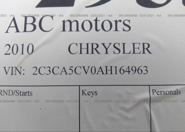 2C3CA5CV0AH164963 2010 CHRYSLER 300