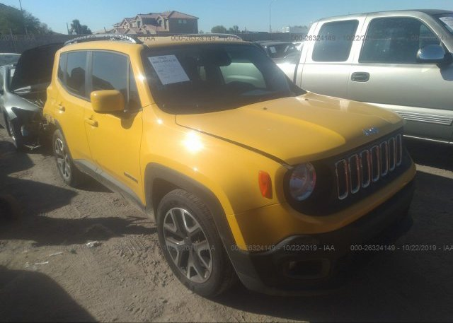 Inventory #492320525 2015 JEEP RENEGADE