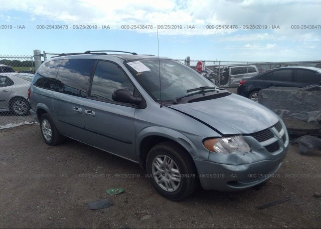 Inventory #854274662 2003 Dodge GRAND CARAVAN