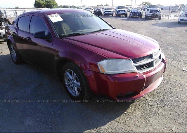Inventory #186883662 2008 Dodge AVENGER
