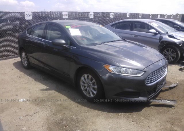 Inventory #207359411 2015 FORD FUSION