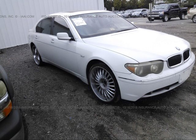 Inventory #963570545 2003 BMW 745