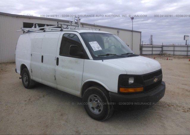 Inventory #793000212 2012 Chevrolet EXPRESS G2500