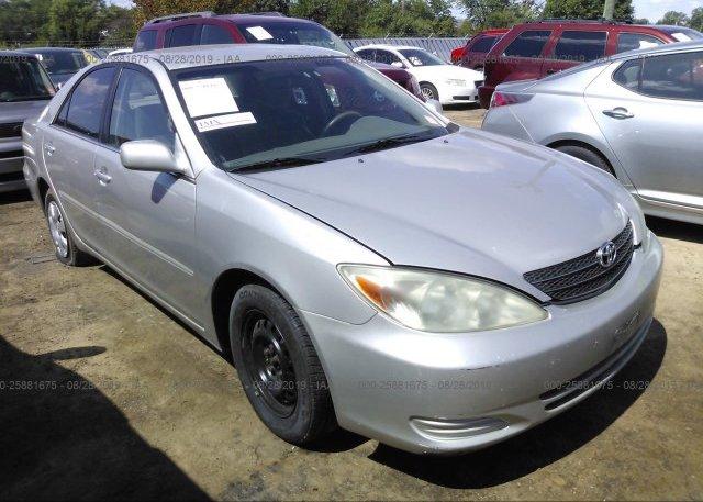 Inventory #225032870 2004 Toyota CAMRY