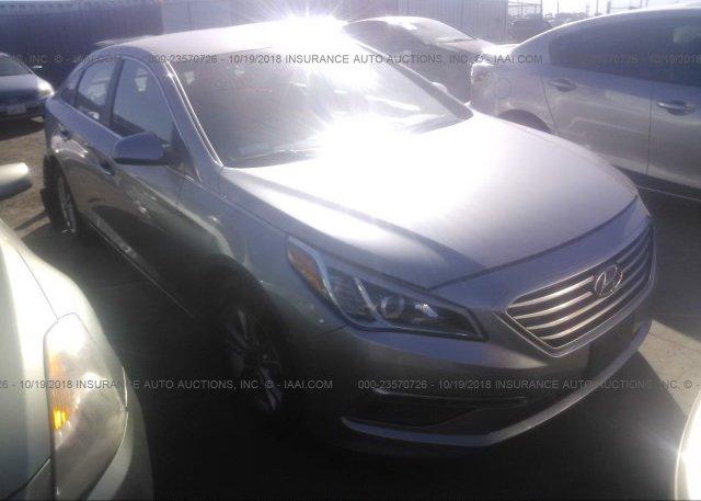 Inventory #819672777 2015 Hyundai SONATA