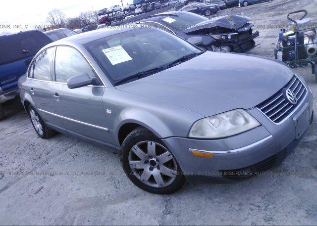 Inventory #493656570 2003 Volkswagen PASSAT
