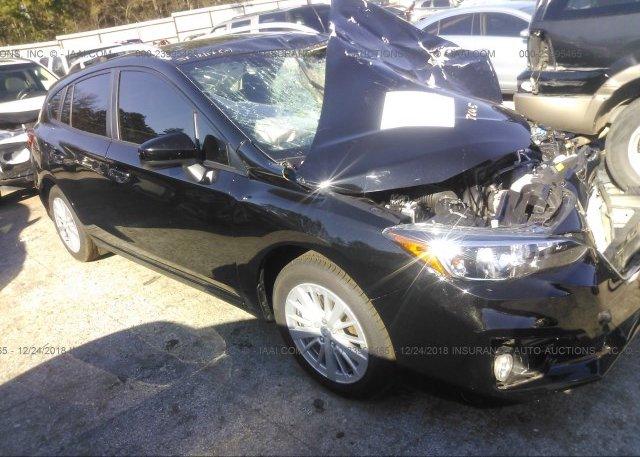 Inventory #162552050 2018 Subaru IMPREZA