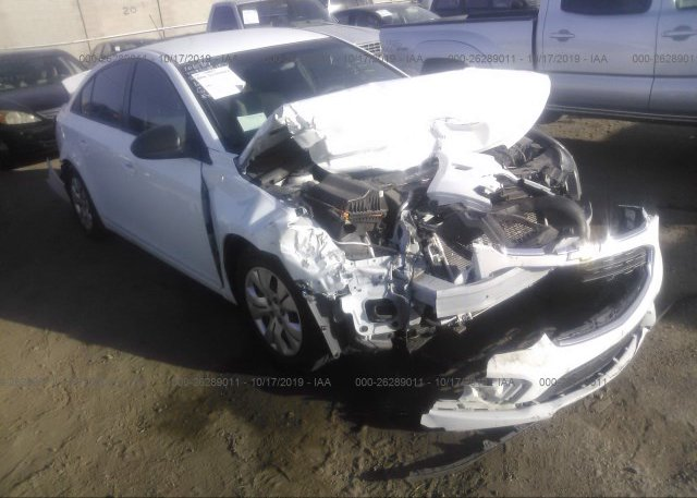 Inventory #955413406 2016 Chevrolet CRUZE LIMITED