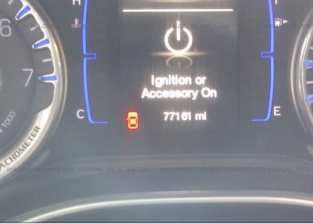 2015 chrysler 200 ignition or accessory on