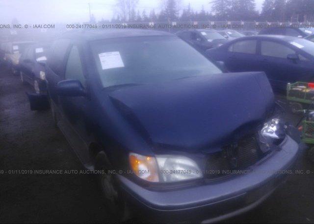 Inventory #997387088 2002 Toyota SIENNA
