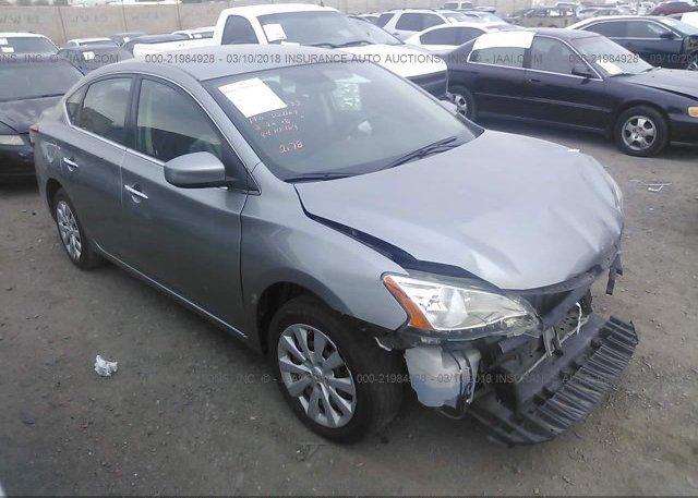 Inventory #855437771 2014 Nissan SENTRA