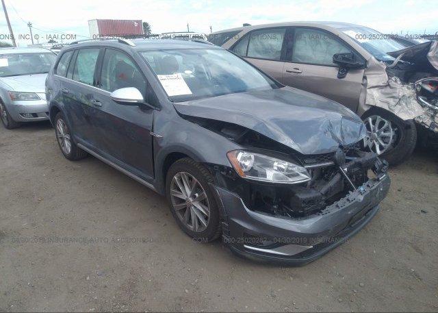 Inventory #603798717 2017 Volkswagen GOLF ALLTRACK