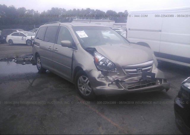 Inventory #578463372 2007 Honda ODYSSEY