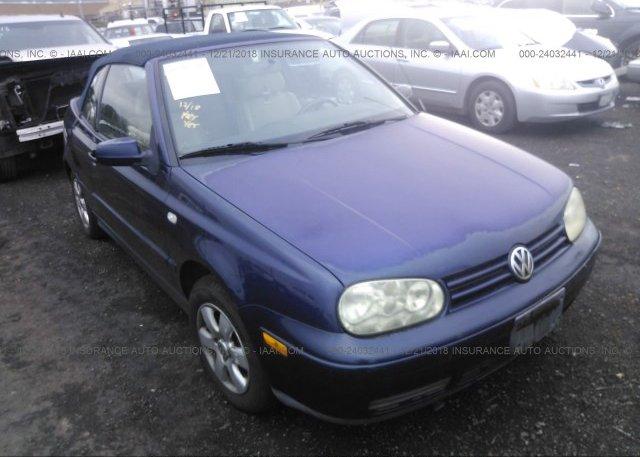Inventory #753044546 2002 Volkswagen CABRIO