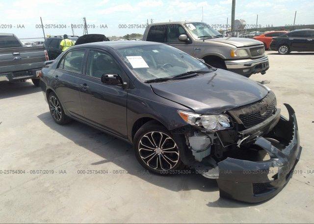 Inventory #574682485 2009 Toyota COROLLA